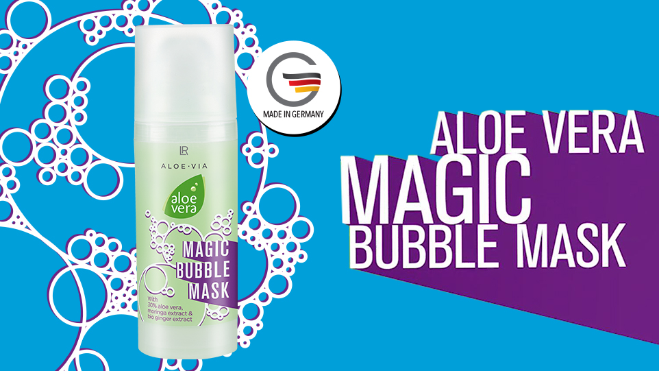 NYHED! IT'S MAGIC! Bubble Mask for detox, fugtighed og bubble booster!